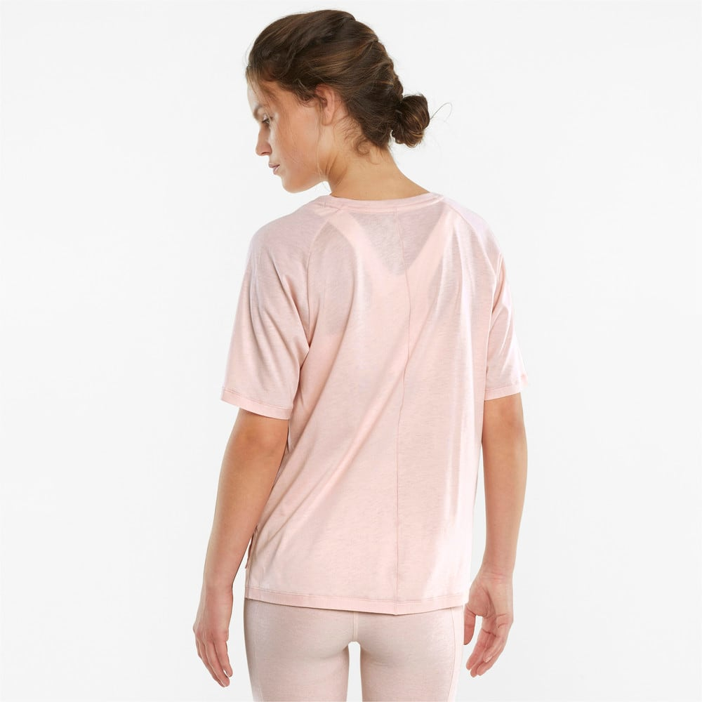 Image PUMA Camiseta STUDIO Tri Blend Relaxed Training Feminina #2