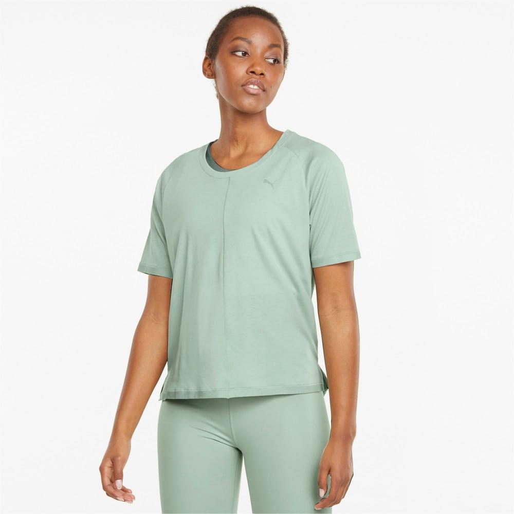 Изображение Puma Футболка Studio Tri Blend Women's Relaxed Training Tee #1