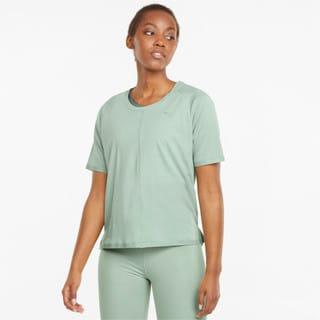 Изображение Puma Футболка Studio Tri Blend Women's Relaxed Training Tee