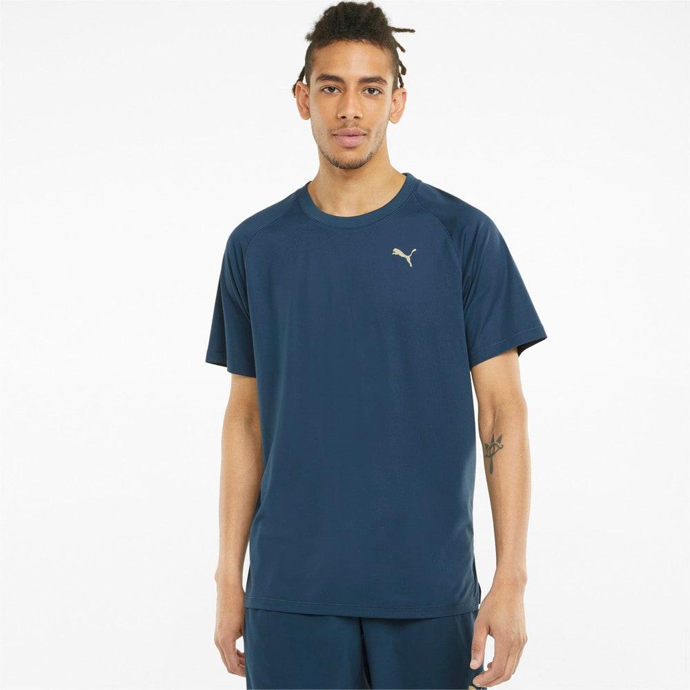 Görüntü Puma STUDIO YOGINI Kısa Kollu Erkek Antrenman T-shirt #1
