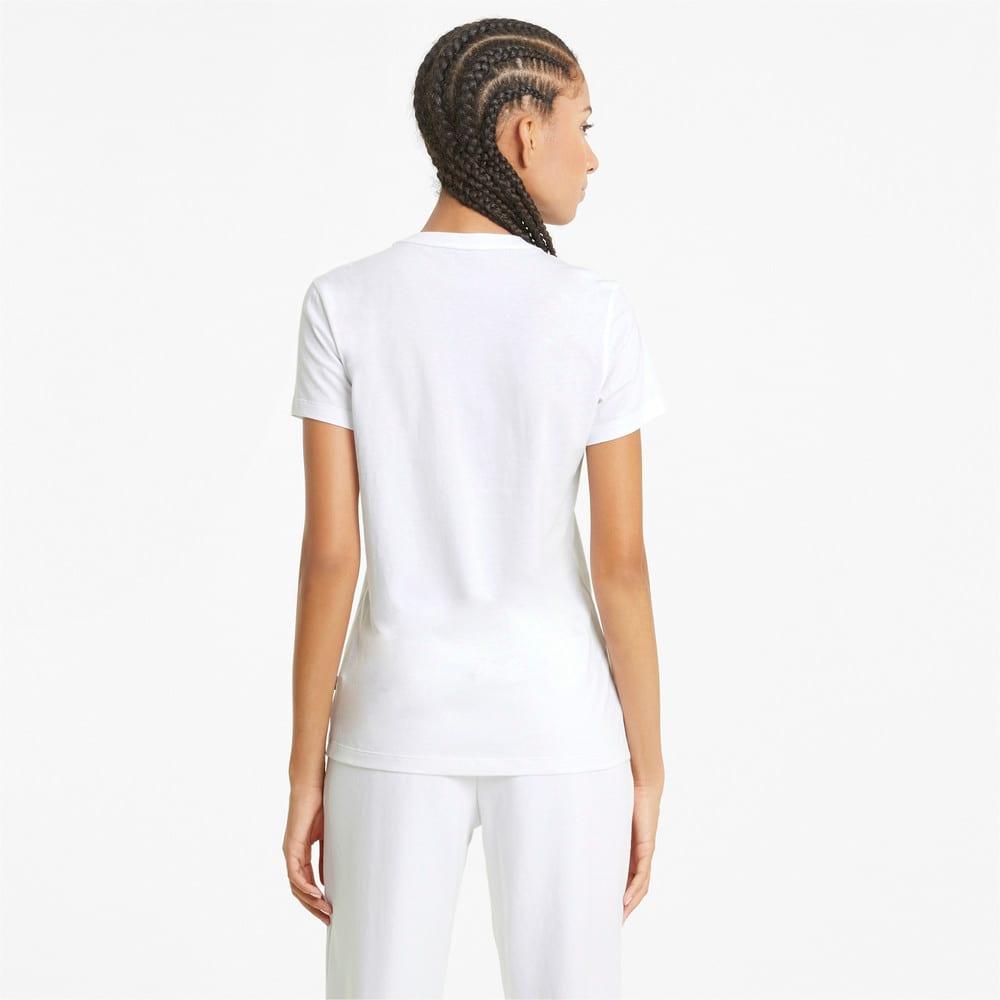 Image PUMA Camiseta Essentials Logo Feminina #2