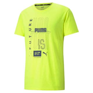 Image PUMA Camiseta Performance Graphic Masculina