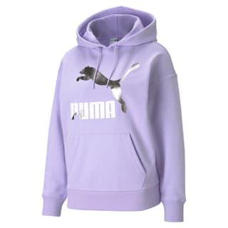 Görüntü Puma CLASSICS Logo Kadın Kapüşonlu Sweatshirt