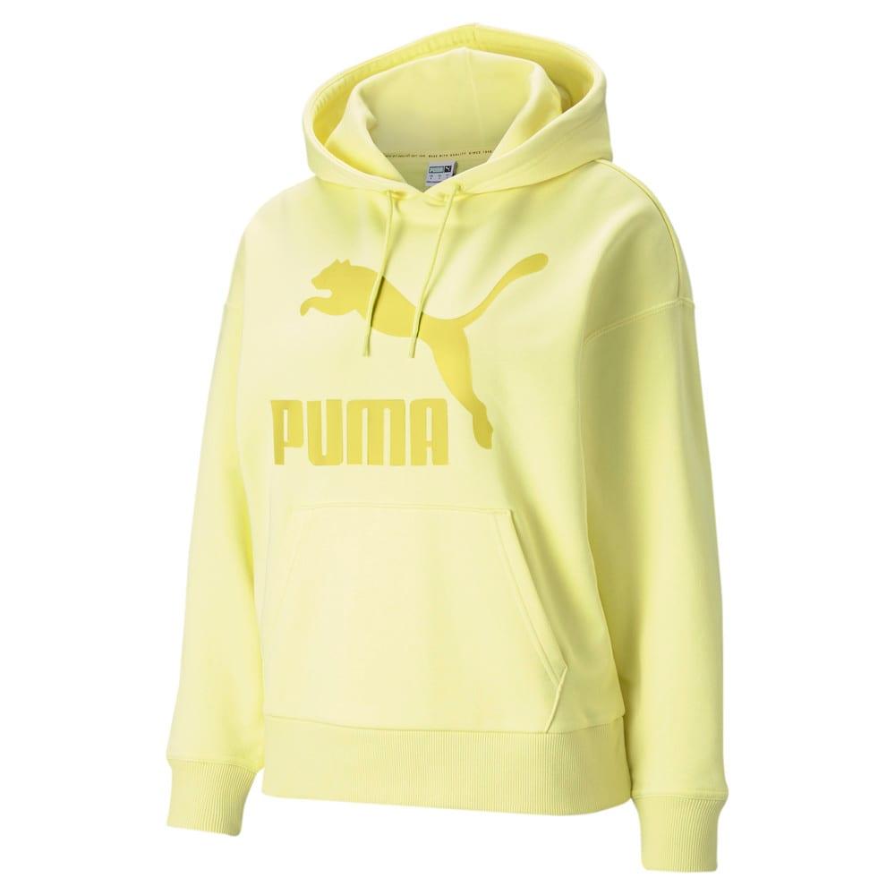 Görüntü Puma CLASSICS Logo Kadın Kapüşonlu Sweatshirt #1