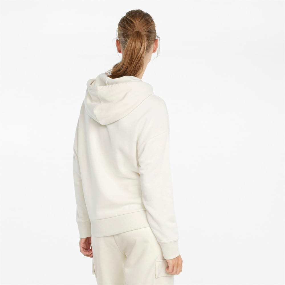Изображение Puma Толстовка Classics Logo Women's Hoodie #2: Ivory Glow-Gloaming