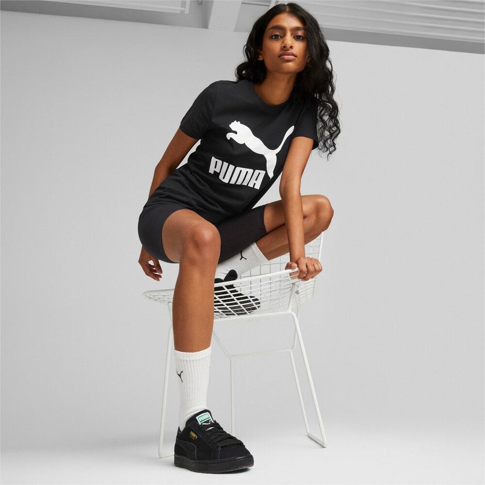 Image PUMA Camiseta Classics Logo Feminina #2