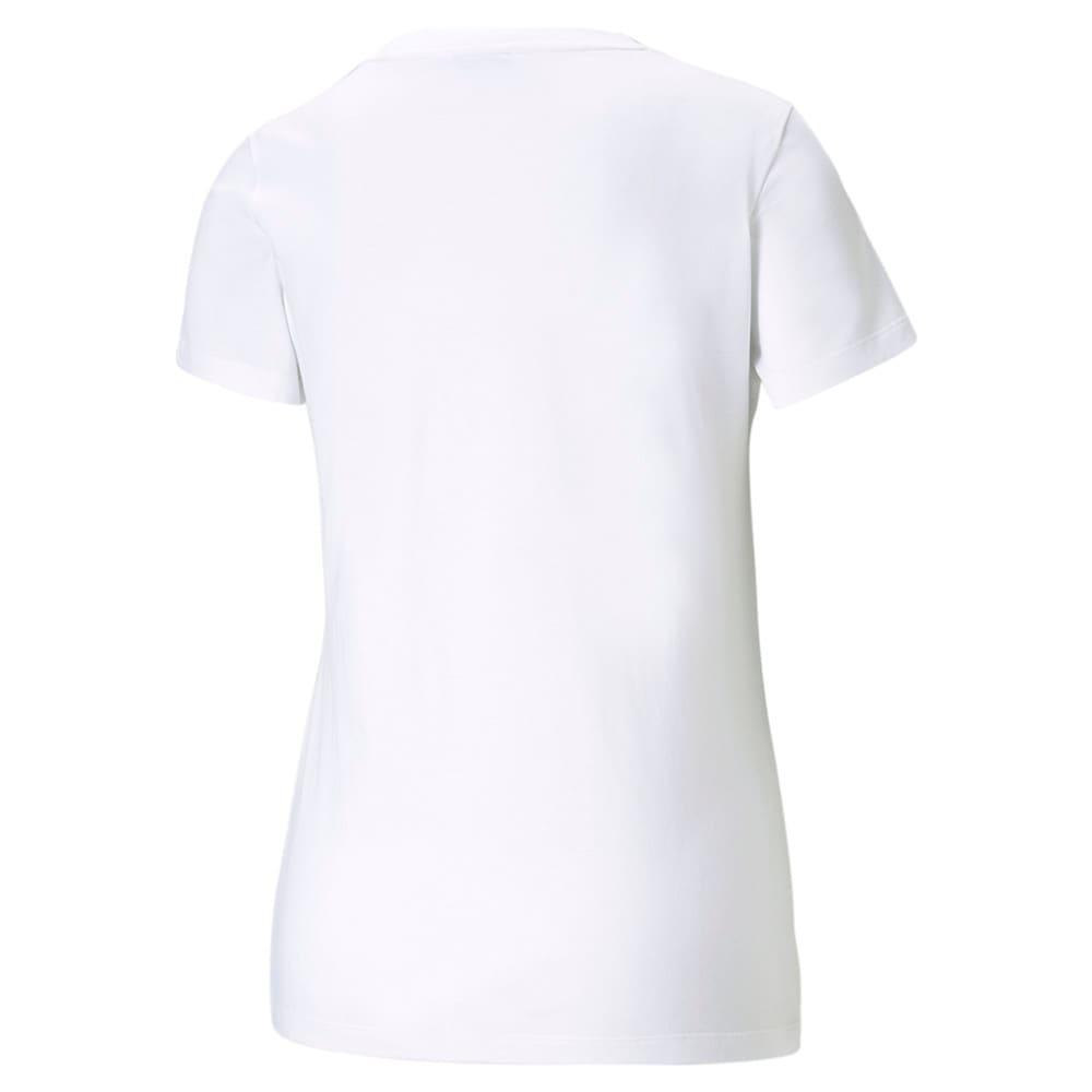 Зображення Puma Футболка Classics Logo Women's Tee #2: Puma White-multi