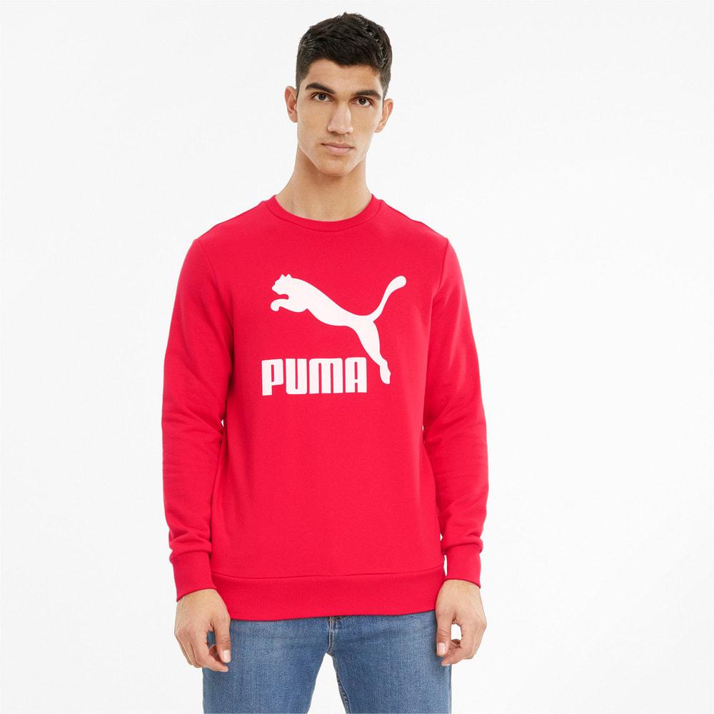 Изображение Puma Толстовка Classics Logo Crew Neck Men's Sweatshirt #1