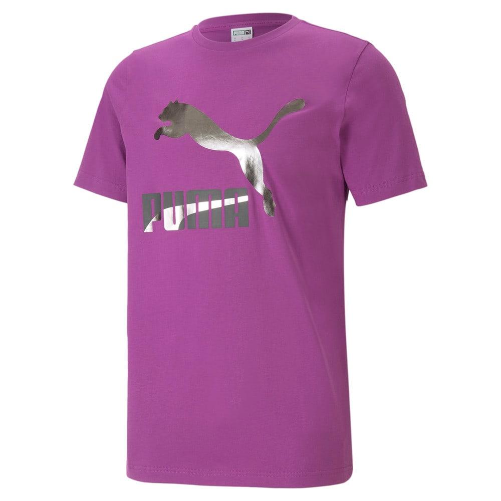 Imagen PUMA Polera deportiva con logotipo para hombre Classics #1