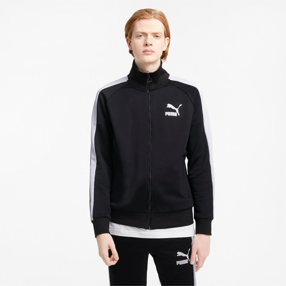 Зображення Puma Олімпийка Iconic T7 Men's Track Jacket #1: Puma Black