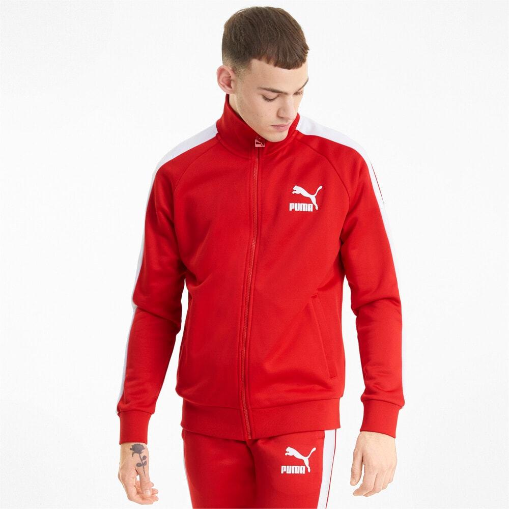 Изображение Puma Олимпийка Iconic T7 Men's Track Jacket #1: high risk red