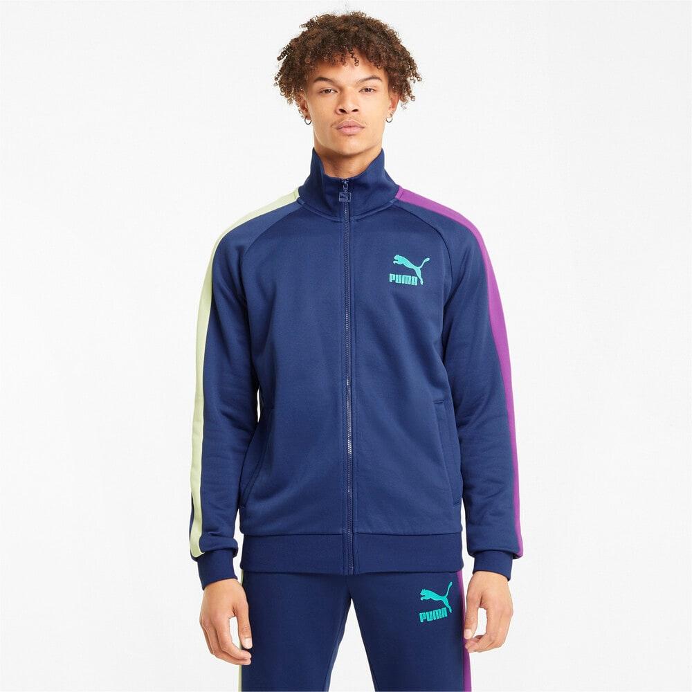 Зображення Puma Олімпійка Iconic T7 Men's Track Jacket #1