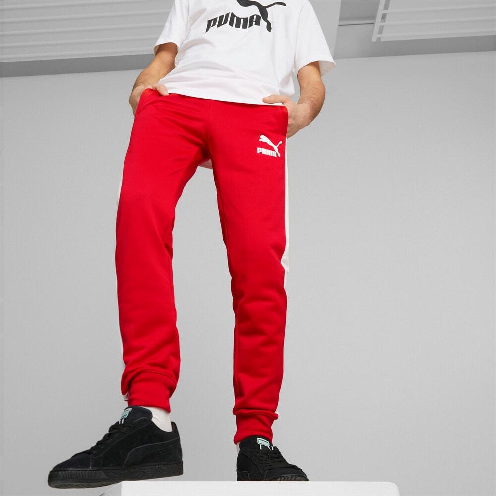 Зображення Puma Штани Iconic T7 Men's Track Pants #1: high risk red