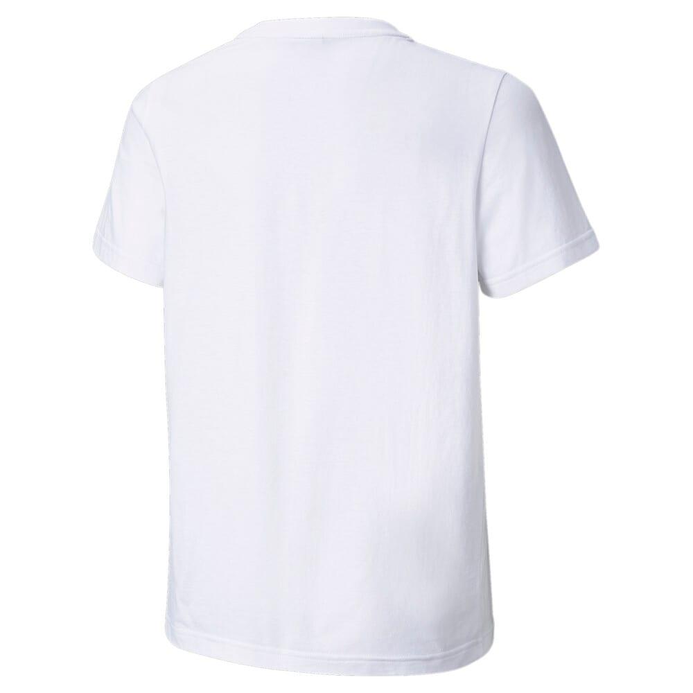 Изображение Puma Детская футболка Classics B Youth Tee #2: Puma White