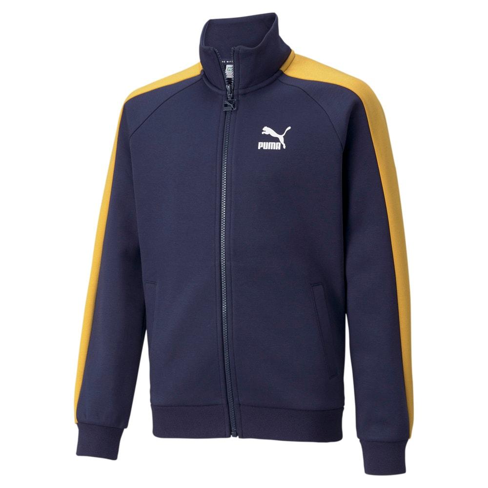 Изображение Puma Детская олимпийка Iconic T7 Youth Track Jacket #1