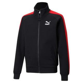 Изображение Puma Детская олимпийка Iconic T7 Youth Track Jacket