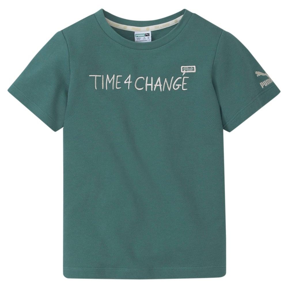 Зображення Puma Дитяча футболка T4C Pique Kids' Tee #1