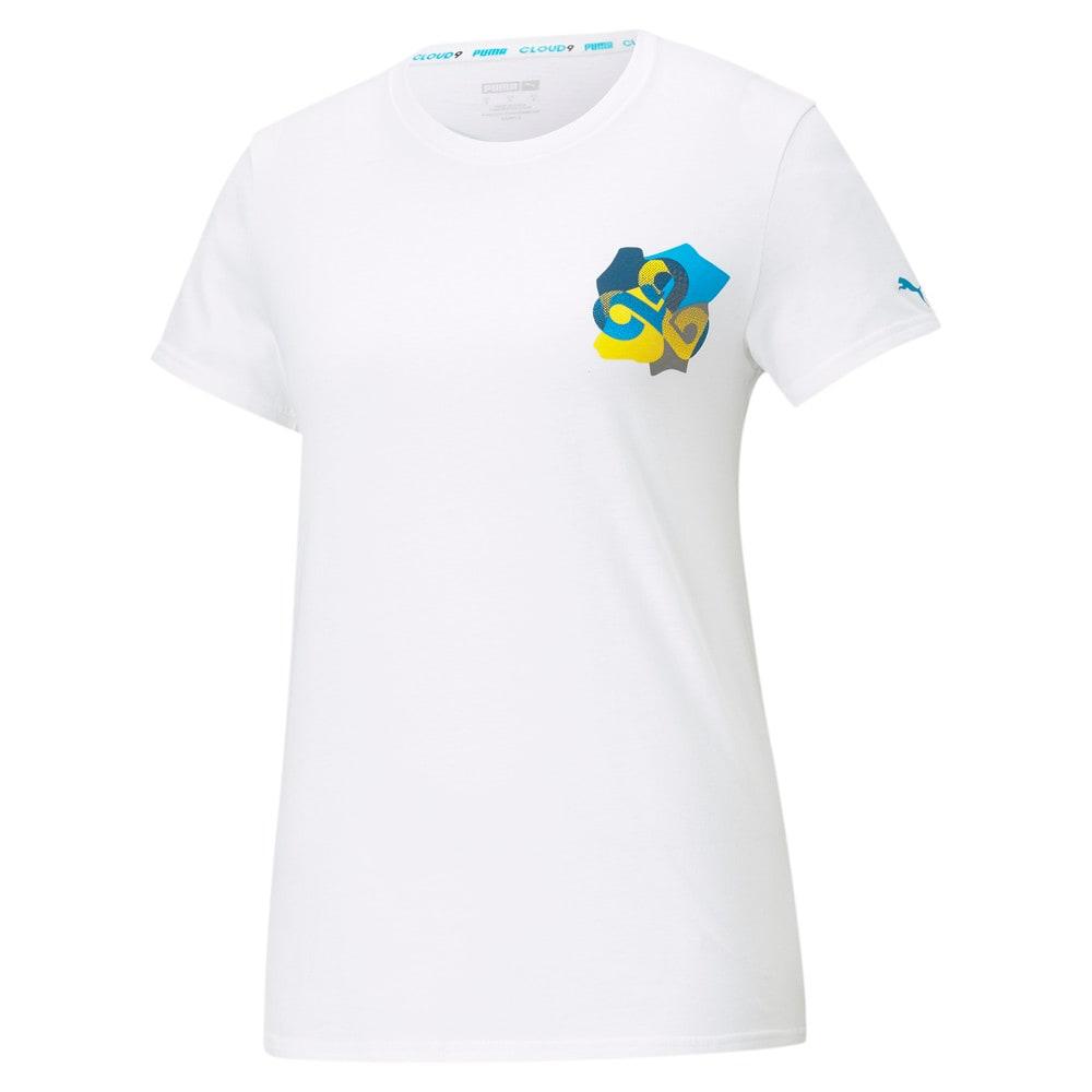 Image PUMA PUMA x CLOUD9 Camiseta Jigsaw Feminina #1