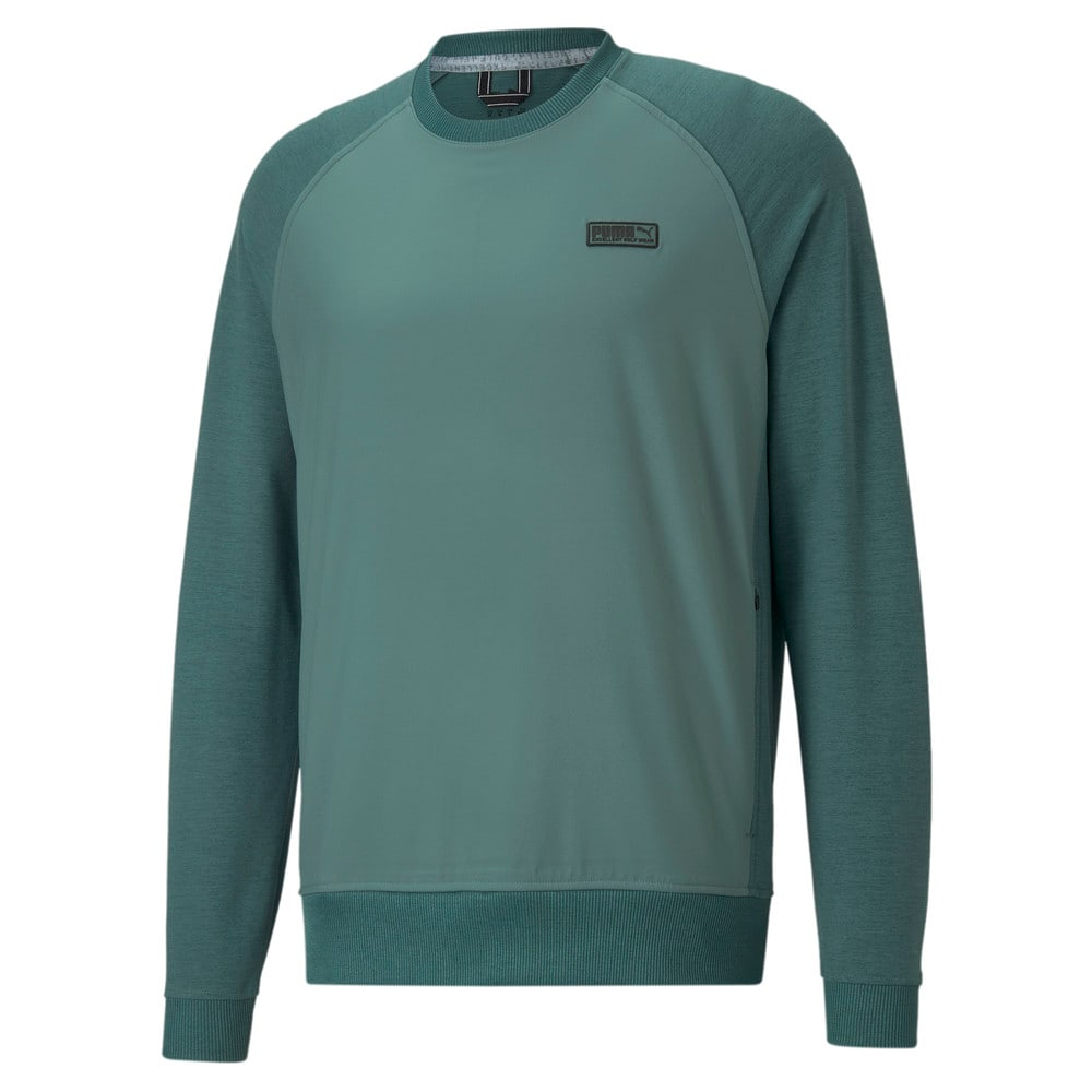 Image Puma EGW CLOUDSPUN PM Crew Neck Men's Golf Sweater #1