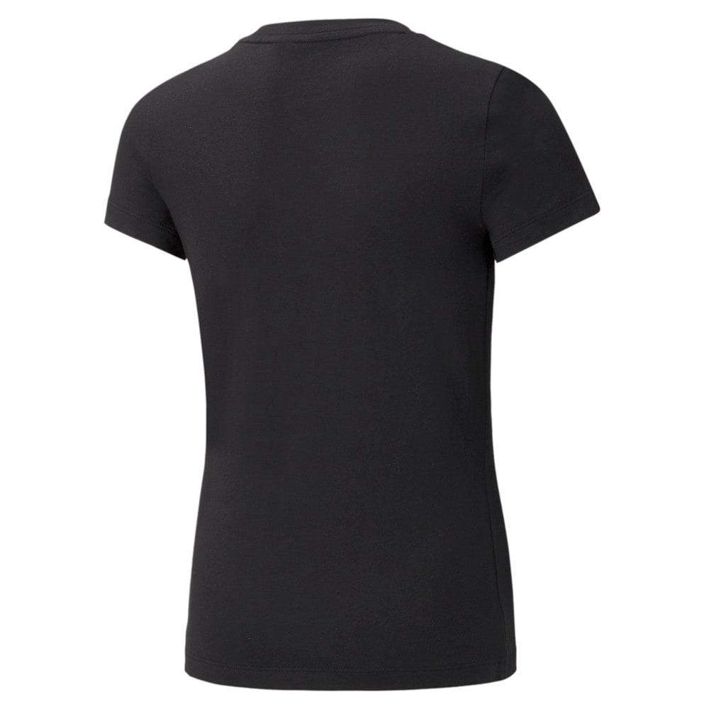 Зображення Puma Дитяча футболка Classics Logo Youth Tee #2: Puma Black