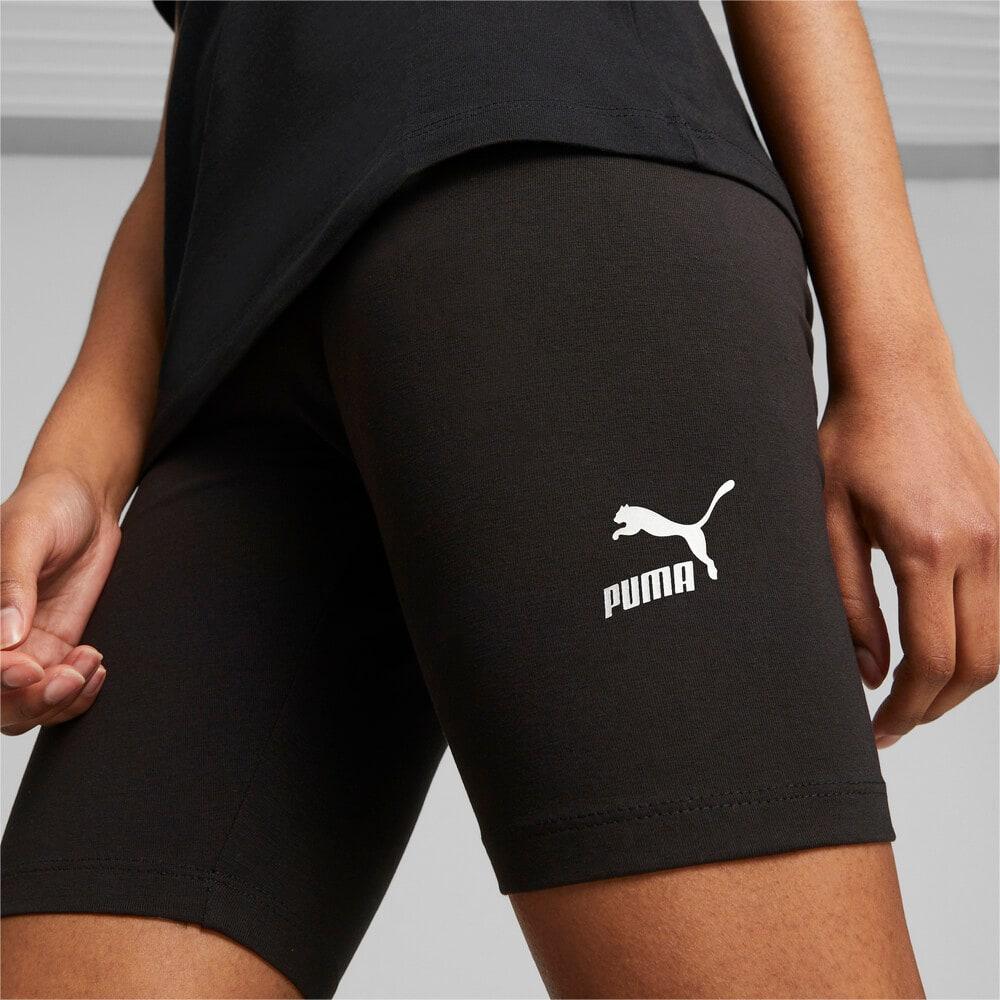 Изображение Puma Леггинсы Classics Women's Short Leggings #1: Puma Black