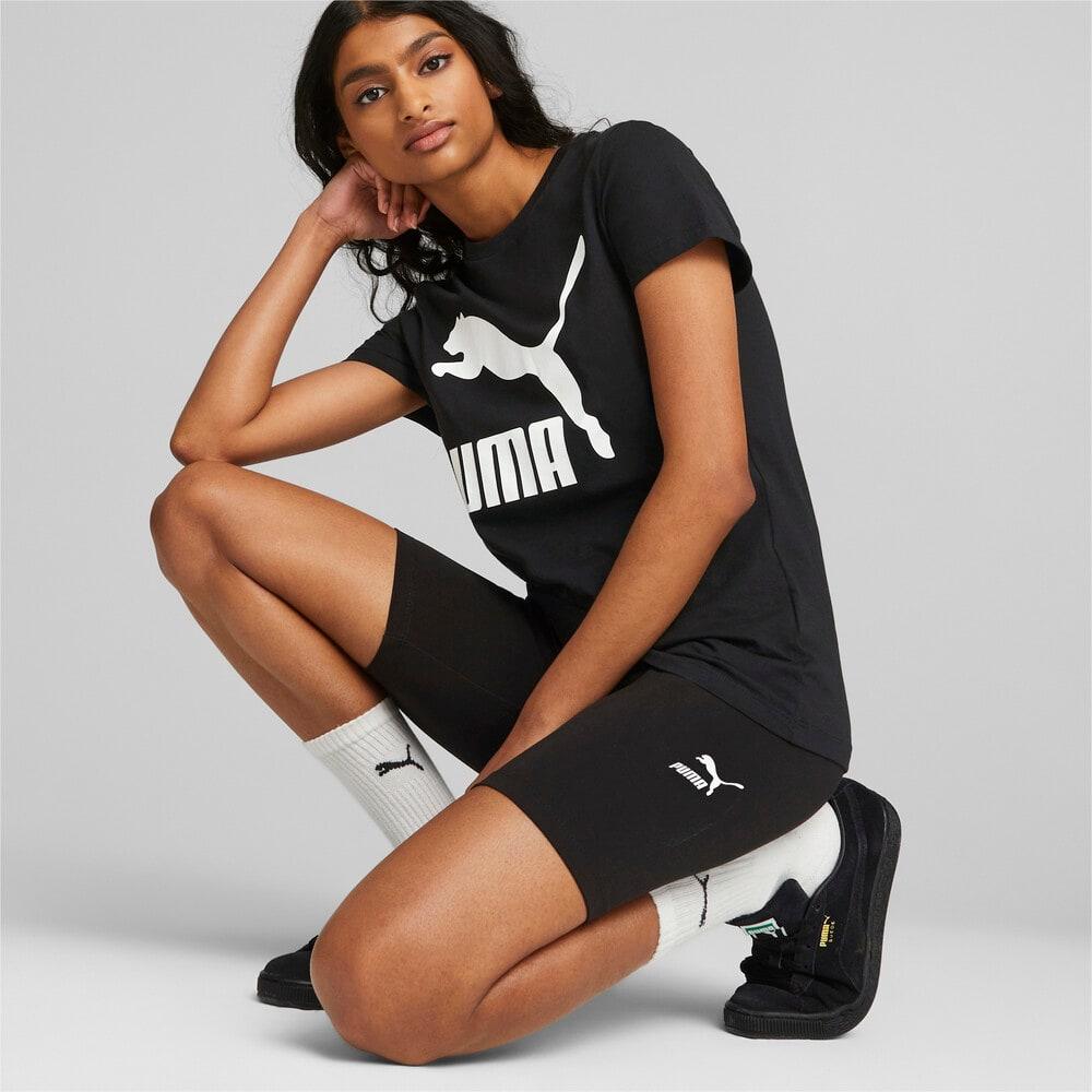 Изображение Puma Леггинсы Classics Women's Short Leggings #2: Puma Black