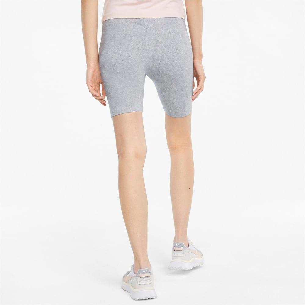 Изображение Puma Леггинсы Classics Women's Short Leggings #2: light gray heather
