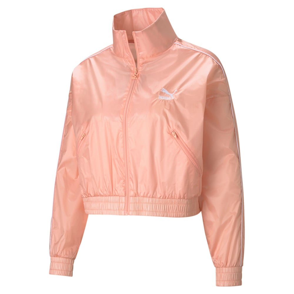 Изображение Puma Олимпийка Iconic T7 Woven Women's Track Jacket #1