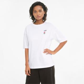 Görüntü Puma DOWNTOWN GRAPHIC Kadın T-shirt