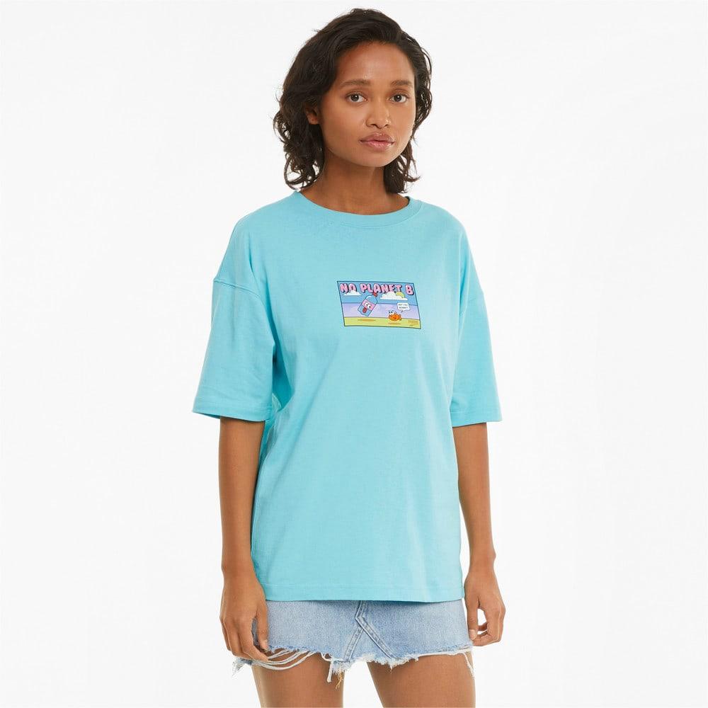 Görüntü Puma DOWNTOWN GRAPHIC Kadın T-shirt #1