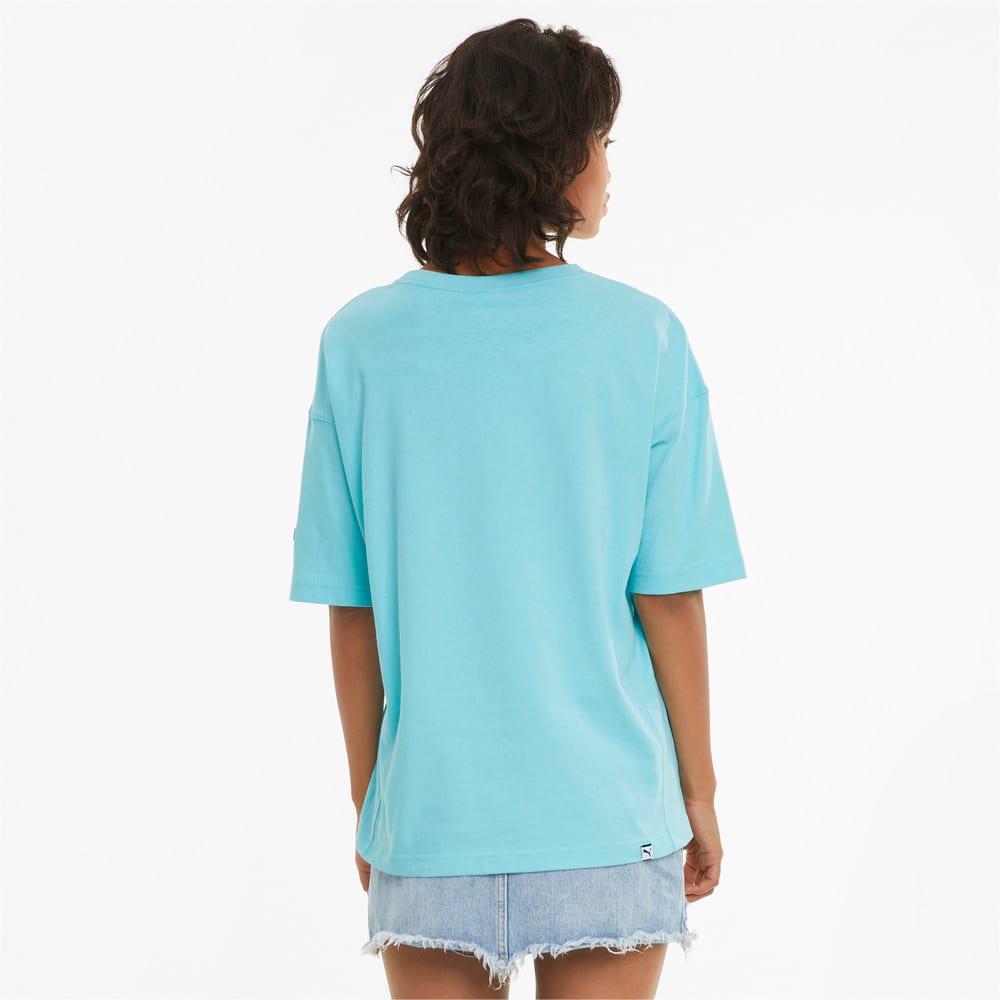 Görüntü Puma DOWNTOWN GRAPHIC Kadın T-shirt #2