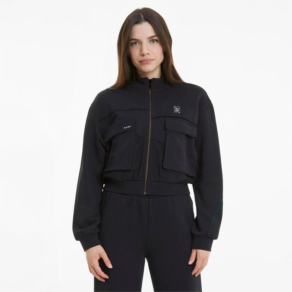 Изображение Puma Олимпийка RE.GEN Cropped Women's Jacket #1