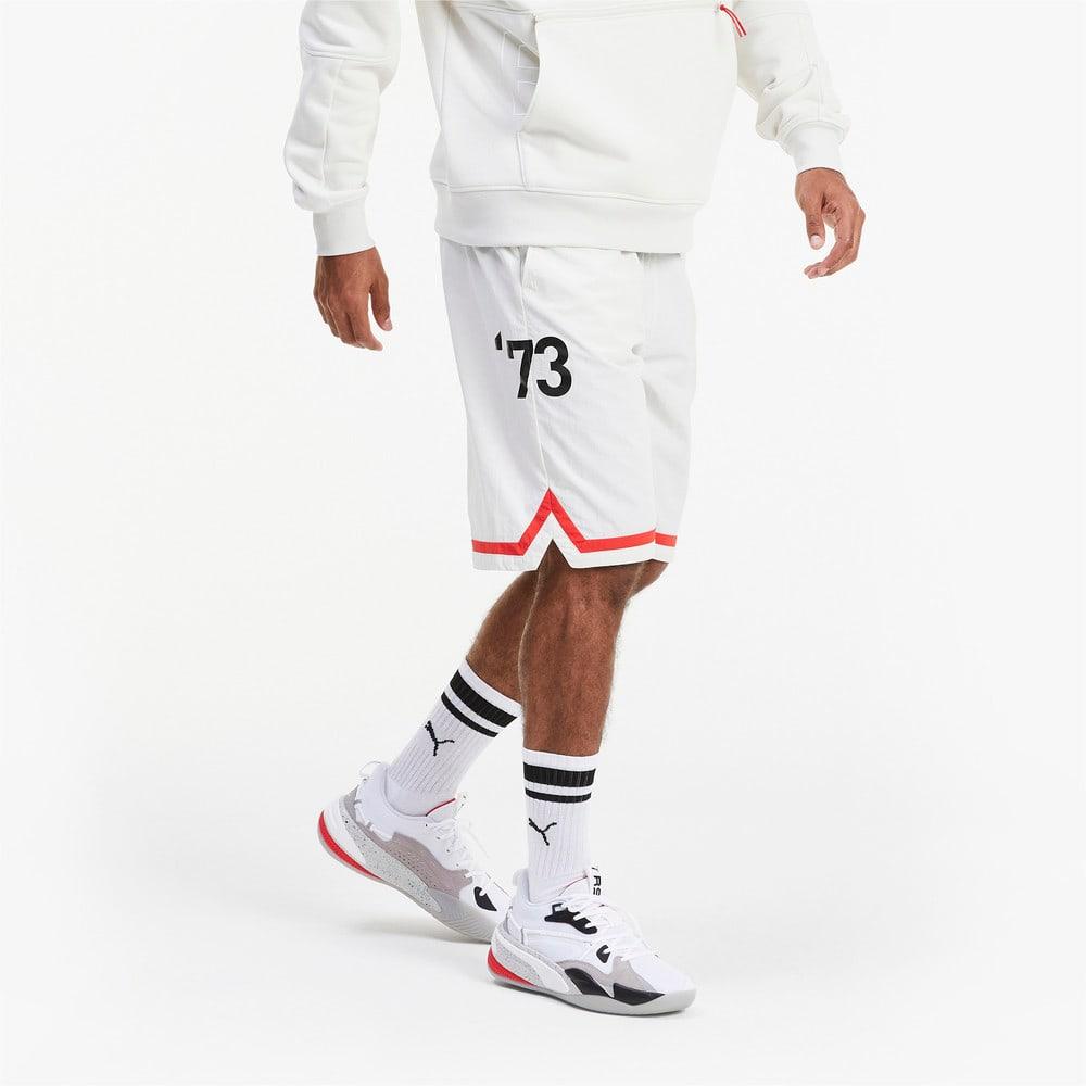 Зображення Puma Шорти Franchise Woven Men's Basketball Shorts #1