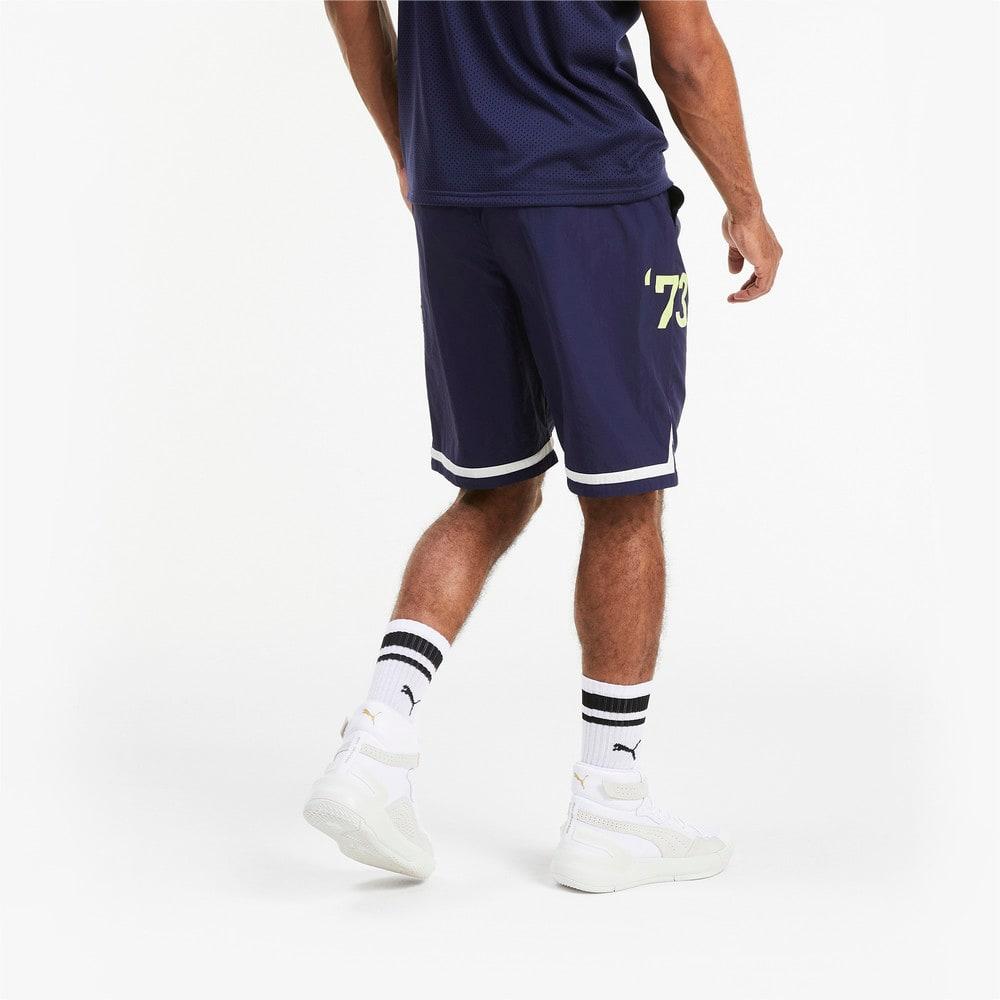 Görüntü Puma FRANCHISE Woven Erkek Basketbol Şort #2