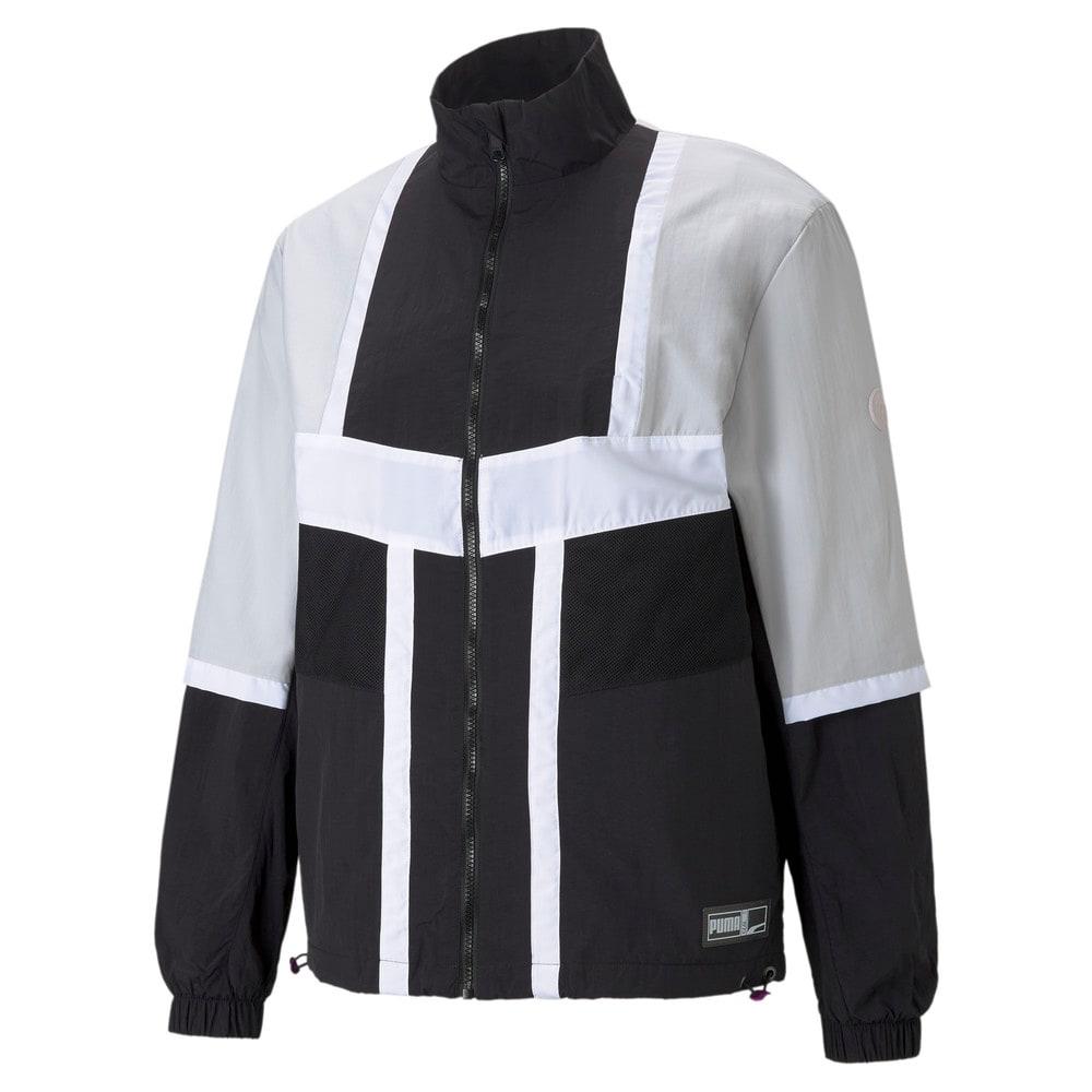 Зображення Puma Олімпійка Court Side Men's Basketball Jacket #1: Puma Black