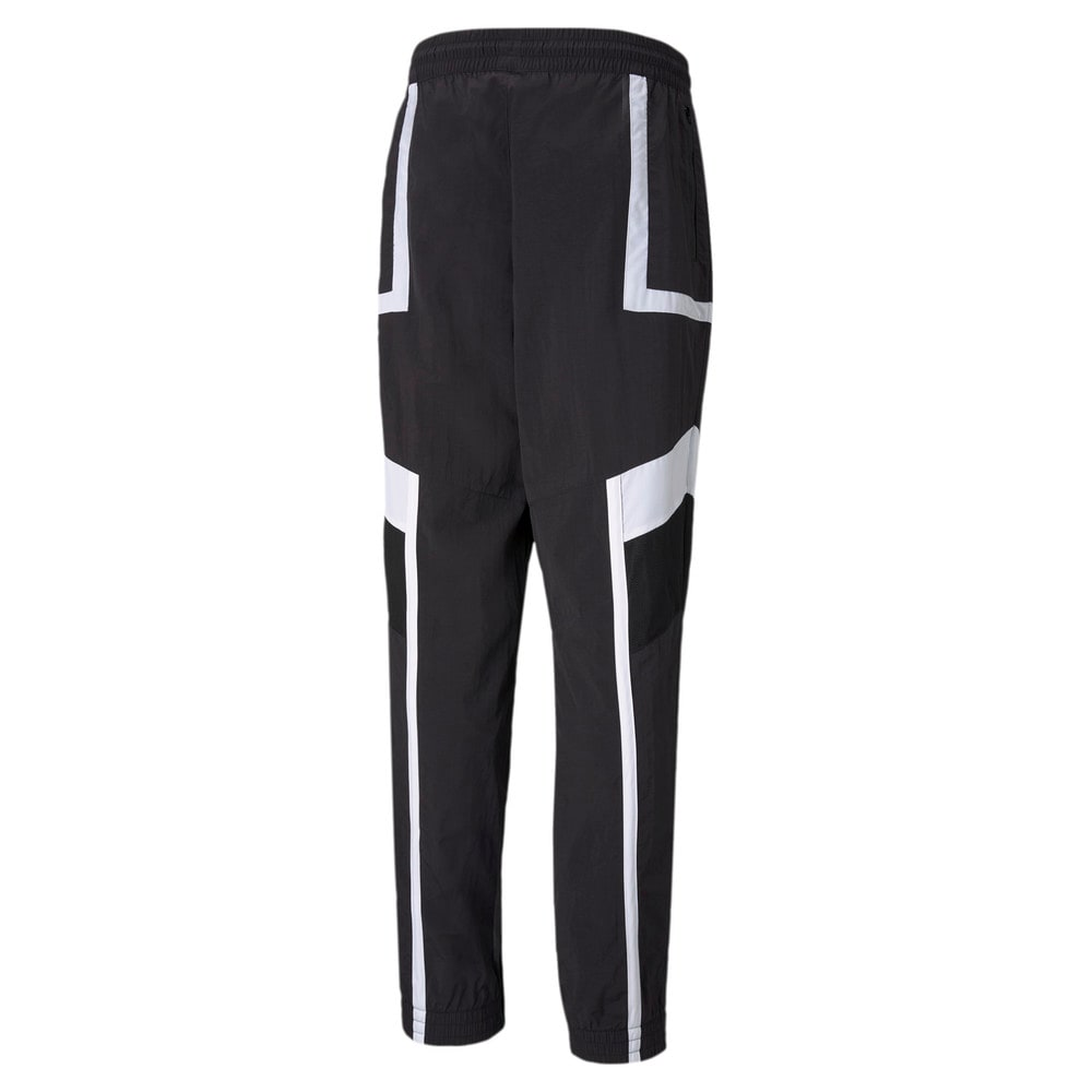 Изображение Puma Штаны Court Side Men's Basketball Pants #2: Puma Black
