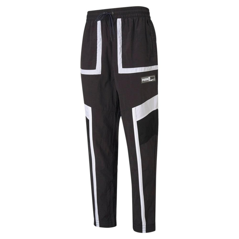 Изображение Puma Штаны Court Side Men's Basketball Pants #1: Puma Black