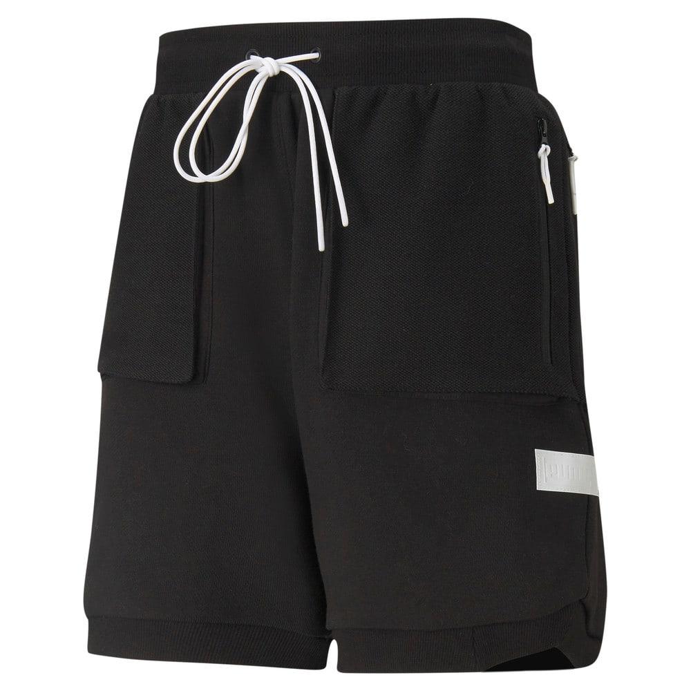 Изображение Puma Шорты Standby Men's Basketball Shorts #1: Puma Black