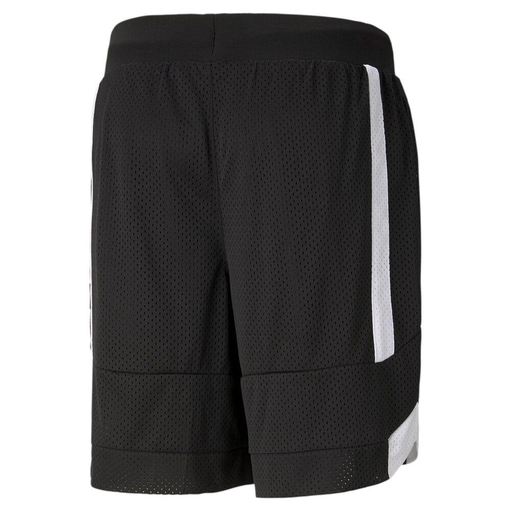 Изображение Puma Шорты Court Side Mesh Men's Basketball Shorts #2