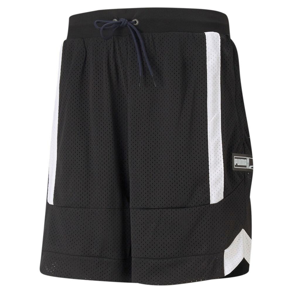 Изображение Puma Шорты Court Side Mesh Men's Basketball Shorts #1