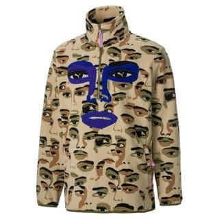 Image Puma PUMA x KidSuper Printed Fleece Half-Zip Men's Top