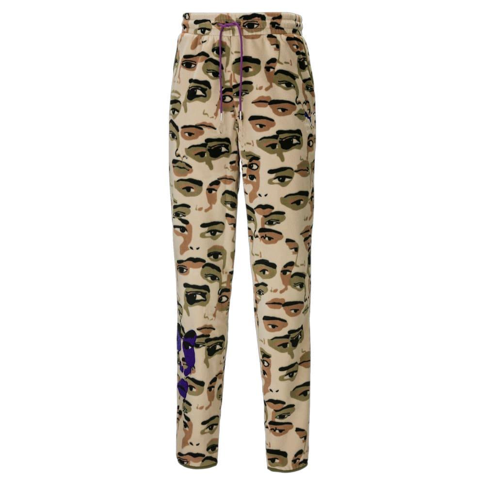 Изображение Puma Штаны PUMA x KidSuper Printed Fleece Men's Pants #1