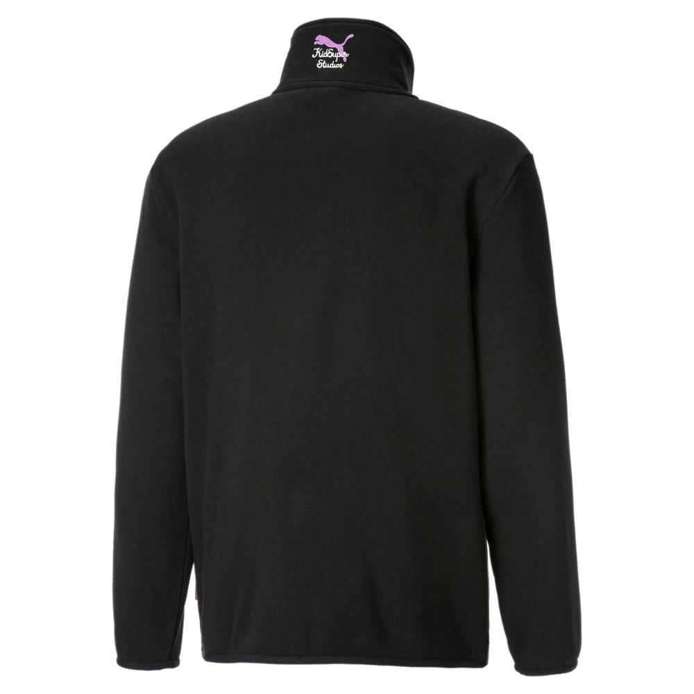 Image PUMA PUMA x KidSuper Blusa Fleece Half-Zip Masculina #2