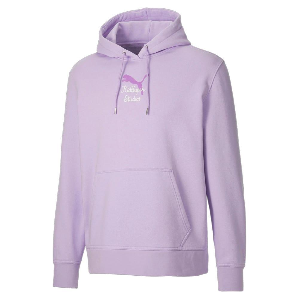 Изображение Puma Толстовка PUMA x KidSuper Men's Hoodie #1: Light Lavender