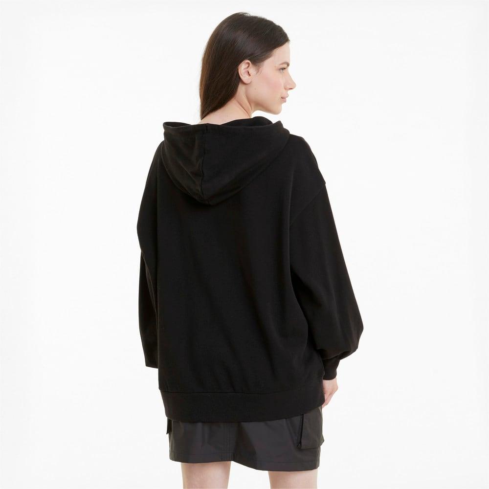 Изображение Puma Толстовка Classics Oversized Women's Hoodie #2