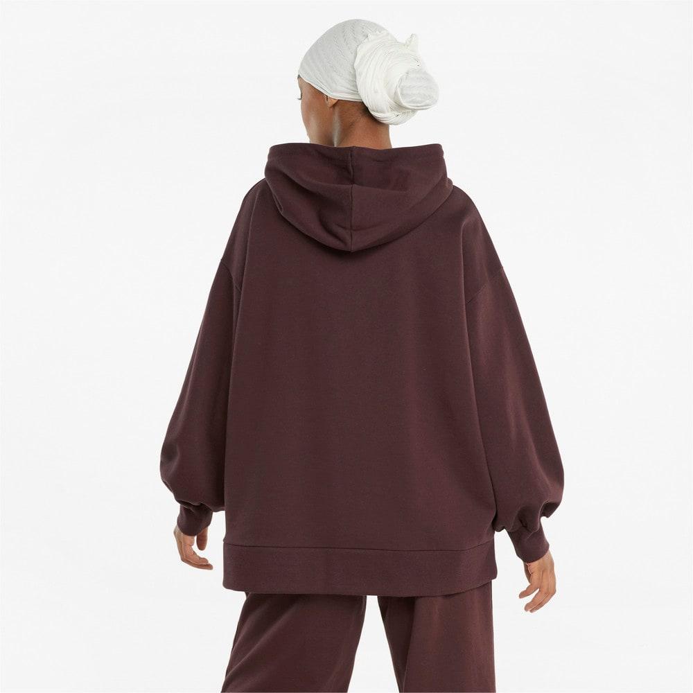 Зображення Puma Толстовка Classics Oversized Women's Hoodie #2: Fudge