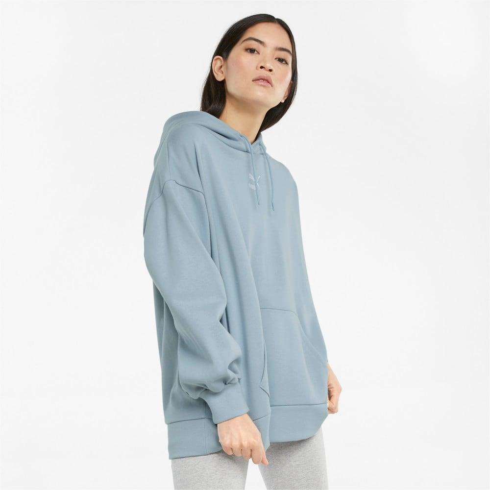Зображення Puma Толстовка Classics Oversized Women's Hoodie #1: Blue Fog