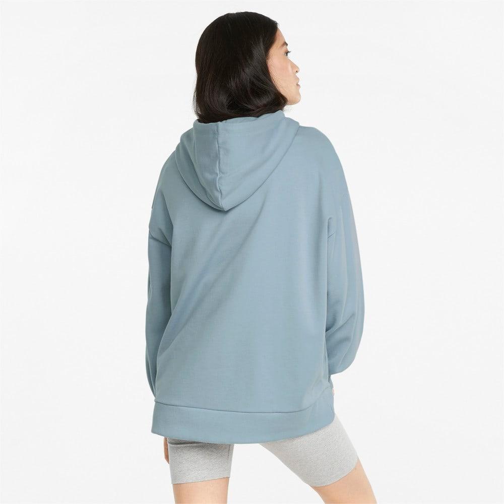 Görüntü Puma CLASSICS Geniş Kesim Kadın Kapüşonlu Sweatshirt #2