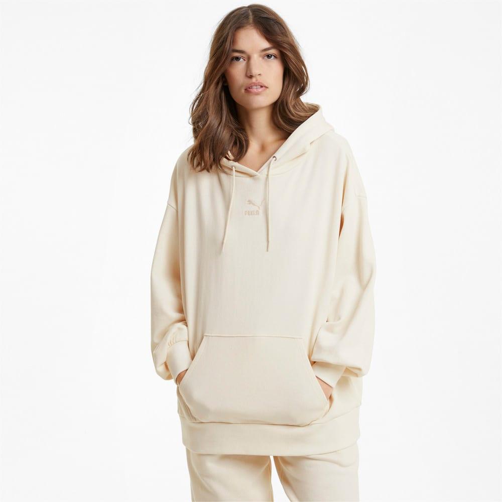 Görüntü Puma CLASSICS OVERSIZED Kadın Kapüşonlu Sweatshirt #1