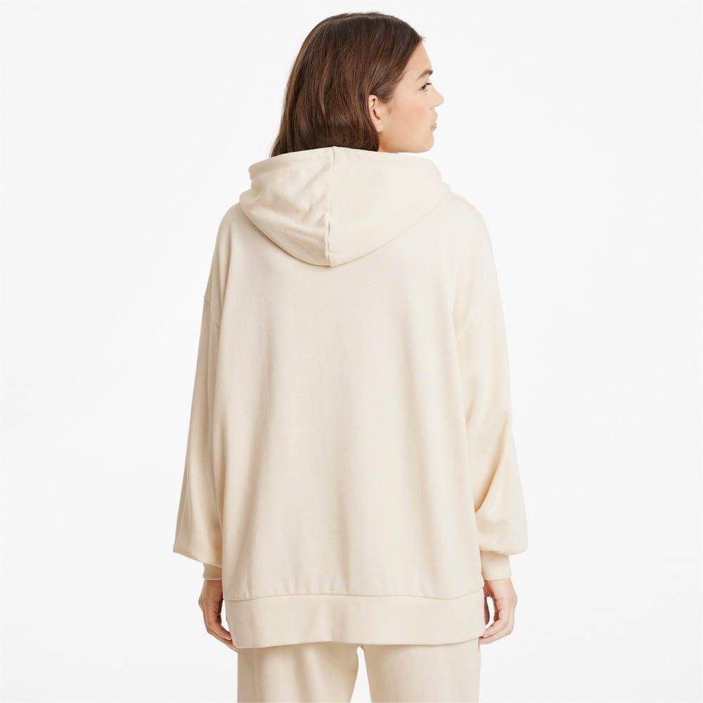 Зображення Puma Толстовка Classics Oversized Women's Hoodie #2